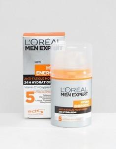Увлажняющий крем для мужчин LOreal Paris Men Expert Hydra Energetic Anti-Fatigue - 50 мл - Мульти Loreal