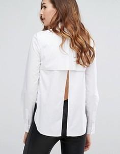 Рубашка с открытой спиной Kendall + Kylie - Белый