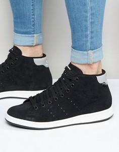 Черные кроссовки adidas Originals Stan Smith Winterized S80500 - Черный