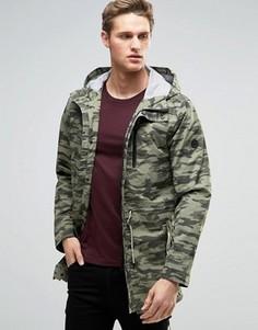 Камуфляжная куртка Parka London Aren - Зеленый