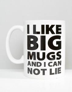 Большая кружка I Like Big Mugs - Мульти Gifts