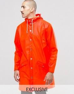 Непромокаемый плащ Rains - Оранжевый