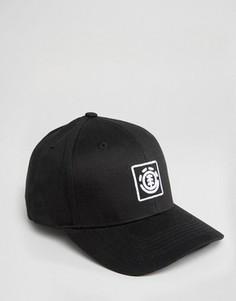 Бейсболка с логотипом в виде дерева Element - Черный