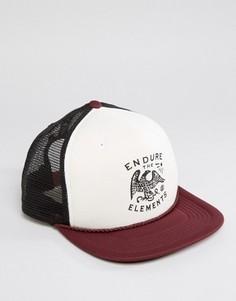 Бейсболка Element Emblem - Красный