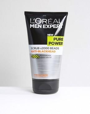 Скраб LOreal Men Expert Pure Power 150 мл - Мульти