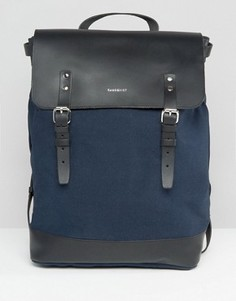Темно-синий рюкзак Sandqvist Hege - Темно-синий