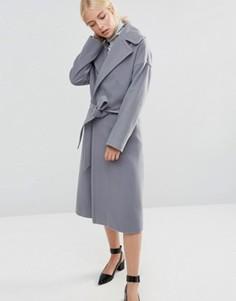 Серое пальто Helene Berman - Серый