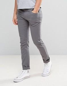 Узкие серые брюки Farah - Серый