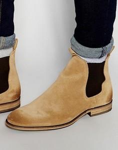 Замшевые ботинки челси Selected Homme Melvin - Коричневый