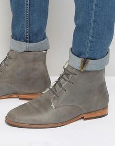 Ботинки на меховой подкладке со шнуровкой Bobbies LExplorateur - Серый