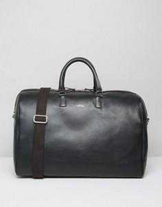 Черная кожаная сумка Sandqvist Ingrid - Черный