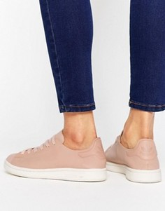 Бежевые кожаные кроссовки adidas Originals Stan Smith - Мульти