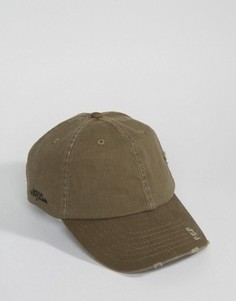 Потертая кепка Dead Vintage - Зеленый