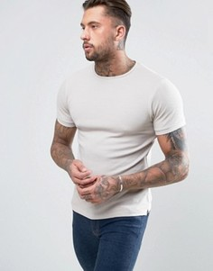 Обтягивающая футболка D-Struct - Stone