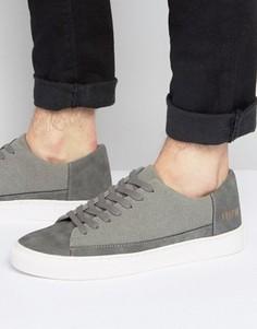Серые низкие кроссовки Systvm - Серый