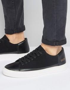 Черные низкие кроссовки Systvm - Черный