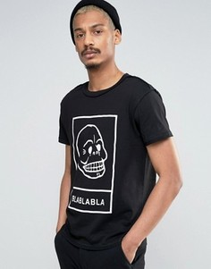 Футболка Cheap Monday Bla Bla - Черный