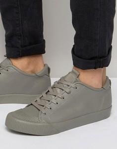 Серые кроссовки на шнуровке ASOS - Серый