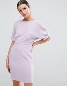 Платье мини ASOS - Фиолетовый