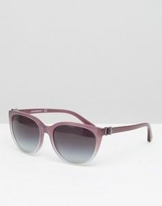 Солнцезащитные очки Emporio Armani - Фиолетовый