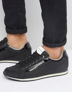 Черные кроссовки для бега Versace Jeans - Черный