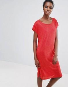 Трикотажное платье Selected Femme Ivy - Красный