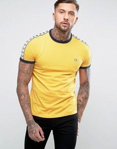 Золотистая футболка Fred Perry Sports Authentic - Золотой
