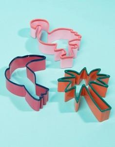Формы для печенья с тропическим дизайном Sunnylife - Мульти