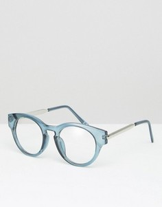Круглые очки Jeepers Peepers - Синий