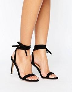 Босоножки на каблуке ASOS HENRIETTA - Черный