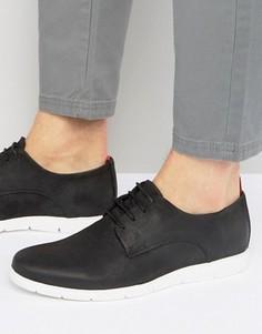 Замшевые туфли Dune Barny - Черный