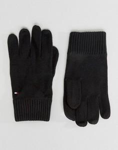 Перчатки с добавлением кашемира Tommy Hilfiger - Черный