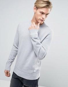 Серый свитшот Converse Essentials 10000654-A07 - Серый