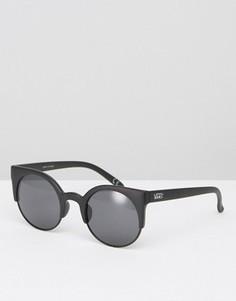 Черные солнцезащитные очки Vans Halls & Wood - Черный