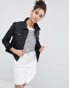Джинсовая куртка Dittos Sabrina - Черный Dittos
