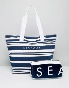 Пляжная сумка с полотенцем Seafolly - Мульти