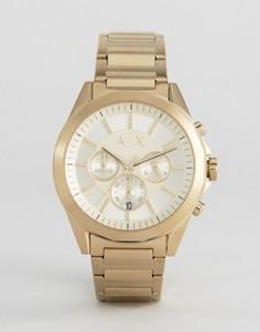 Часы-браслет с хронографом Armani Exchange AX2602 - Золотой