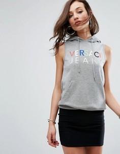 Худи без рукавов Versace Jeans - Серый