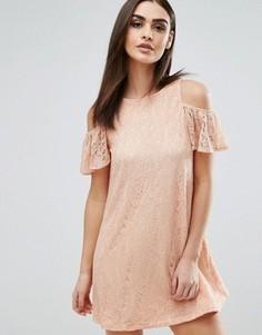 Чайное платье Ax Paris - Розовый