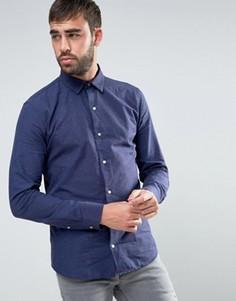 Темно-синяя рубашка в крапинку Dead Vintage - Темно-синий