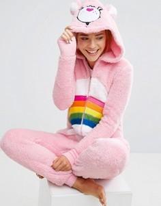 Комбинезон с мишкой Undiz Bisouniz Care Bear - Розовый