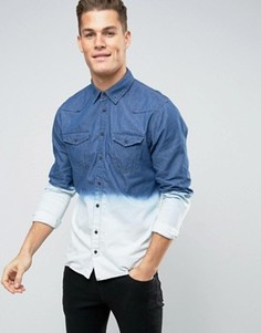 Рубашка с эффектом деграде Blend - Синий
