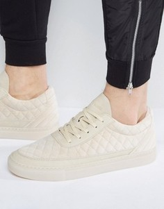 Стеганые кроссовки песочного цвета Cayler & Sons Chutoro - Бежевый