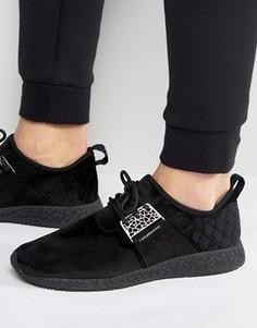 Черные кроссовки со стеганой вставкой на заднике Cayler & Sons Katsuro - Черный