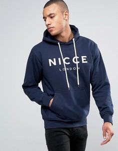 Худи темно-синего цвета Nicce London - Темно-синий