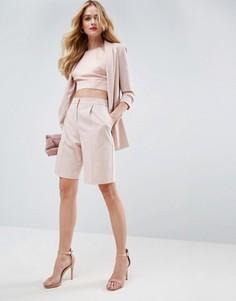 Строгие шорты ASOS - Розовый