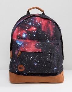 Рюкзак с галактическим принтом Mi-Pac - Черный