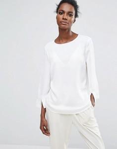Блузка с длинными рукавами Selected Femme - Белый