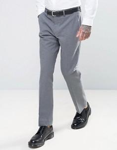 Фланелевые брюки слим Harry Brown - Серый