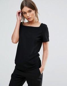 Узкая футболка Ichi - Черный